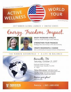 Knoxville, TN. - Active Wellness Tour w/ Gloria Snyder & Patricia Vangilder @ Backroads Market & Designs   Knoxville   Tennessee   United States