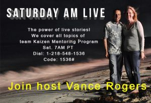 Saturday AM Live w/Vance Rogers @ Call show