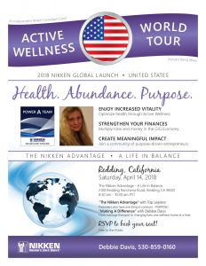 Redding, California - Active Wellness Tour w/ Debbie Davis & Top leaders @ Redding | California | United States