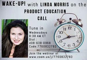 WAKE-UP with Linda Morris @ www.zoom.us/j/7760832783