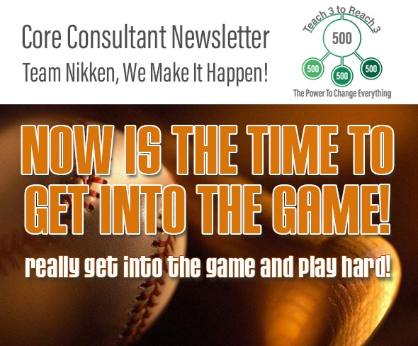 Now Is The Time To Get Into The Game!