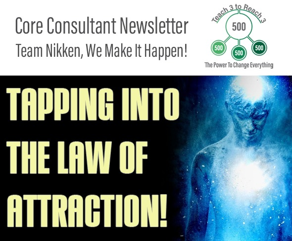 Tapping Into The Law Of Attraction!