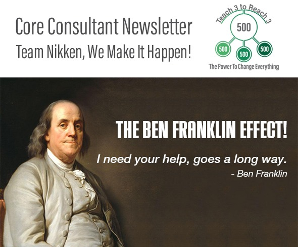 The Ben Franklin Effect!