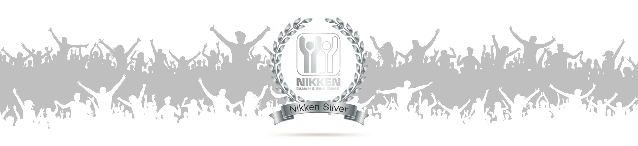 Nikken Silver Banner