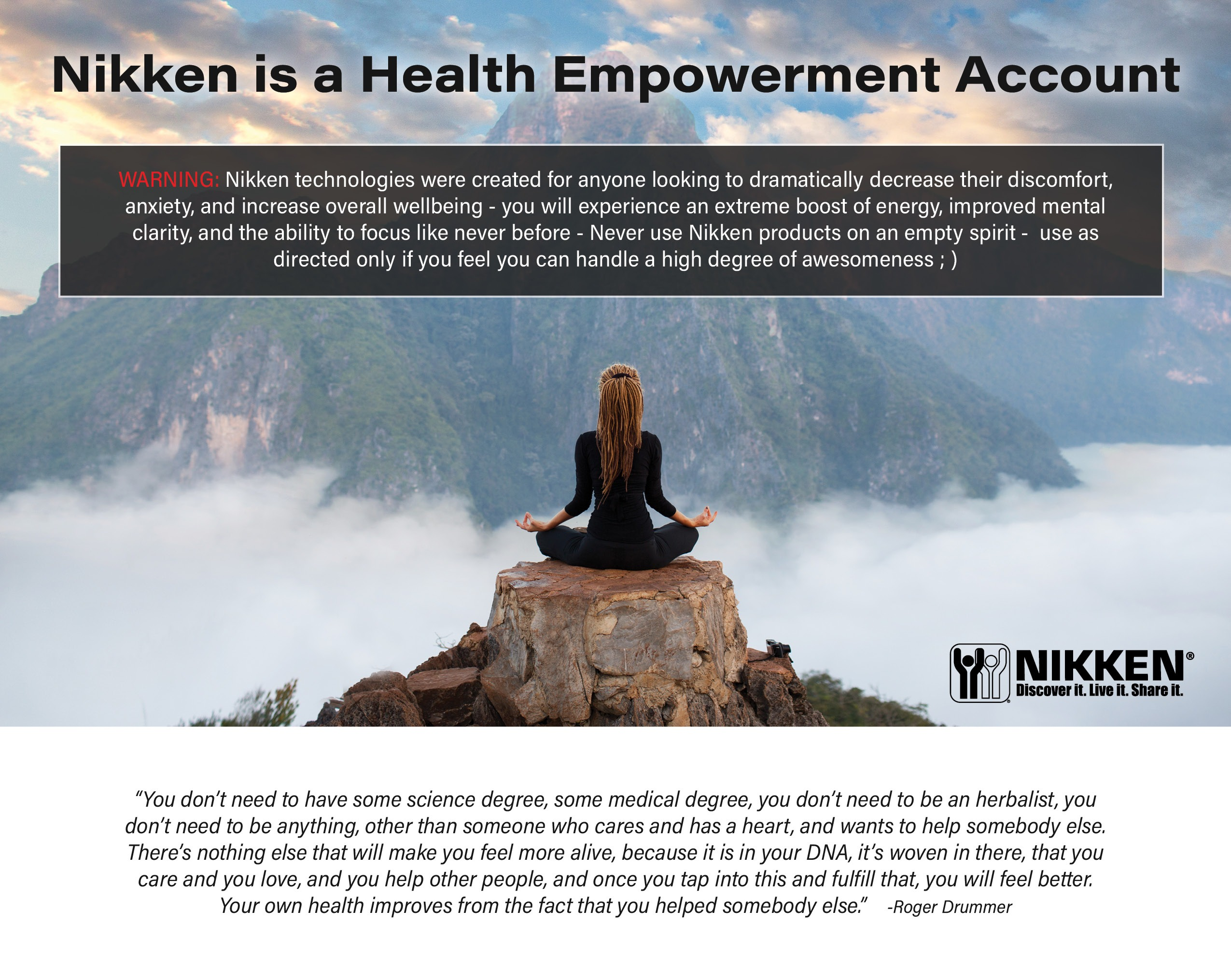 Nikken Is A Health Empowerment Account