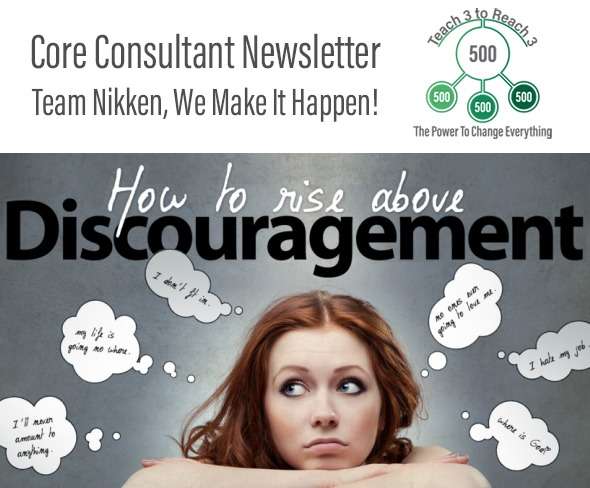 How To Rise Above Discouragement
